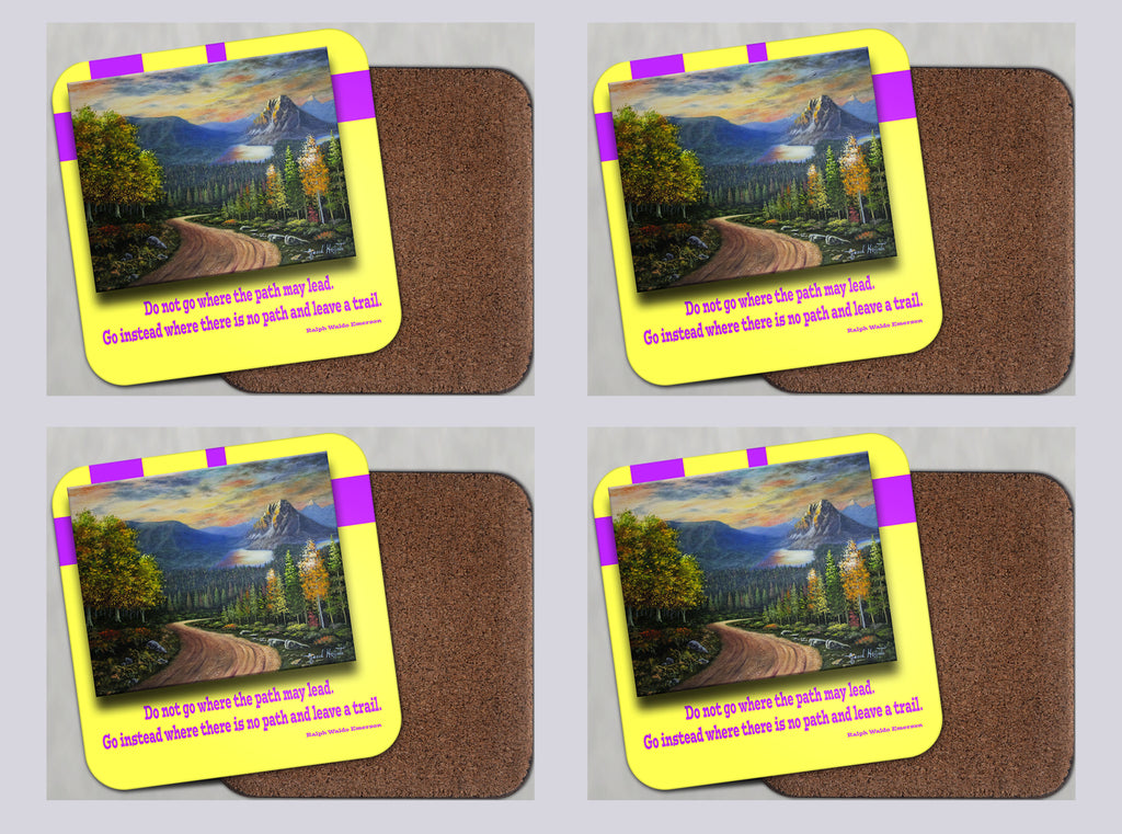 "Coasters with Cork #46 ""Journey to Mt. Assiniboine"""