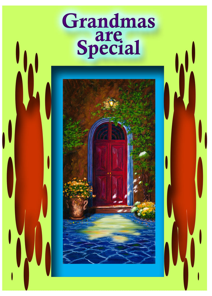 Greeting Card Plaque - Grandmas are Special