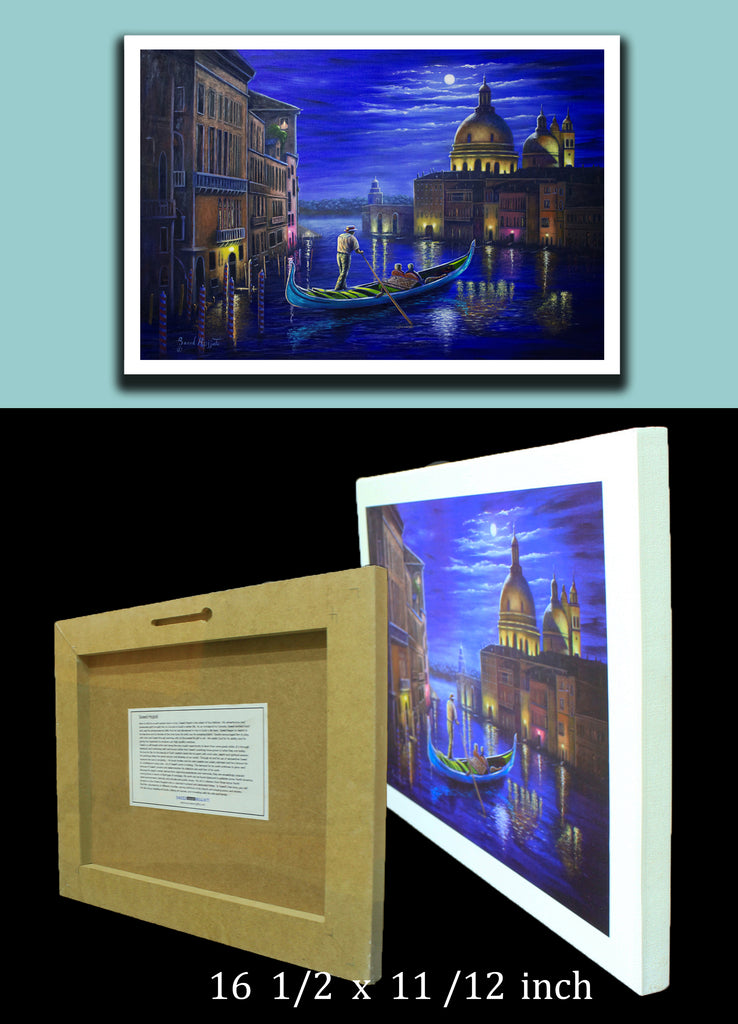 "3D Plaquemounts ""Evening in Venice"""