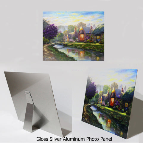 "NEW ITEM! 8"" X 10"" ALUMINUM ART PANEL"