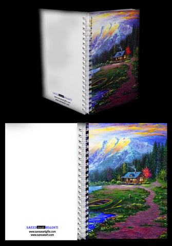 Kananaskis Country Journal with Lined Paper