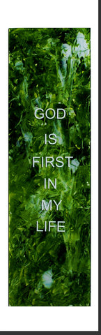 Inspired Creation - God is First in my Life