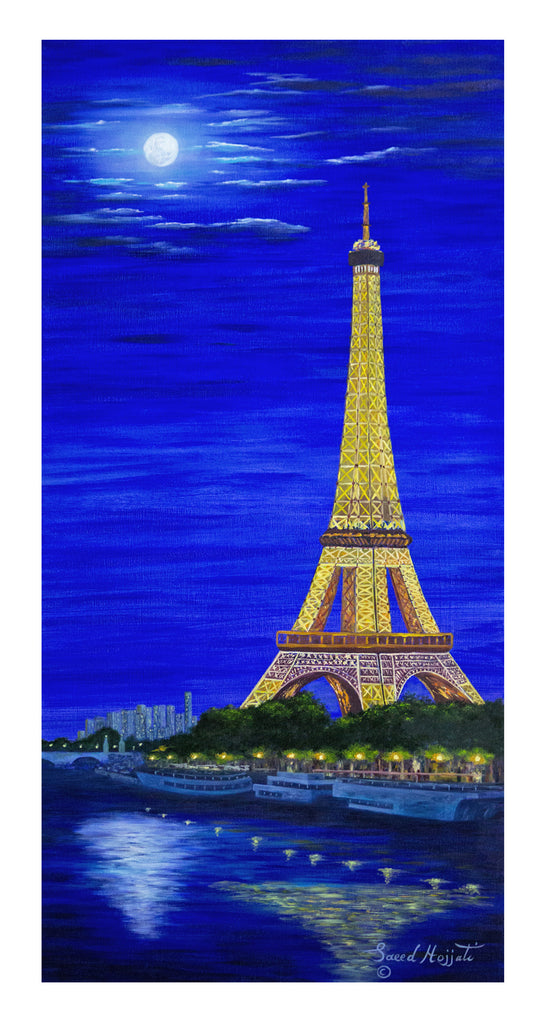 Paris by Moonlight I