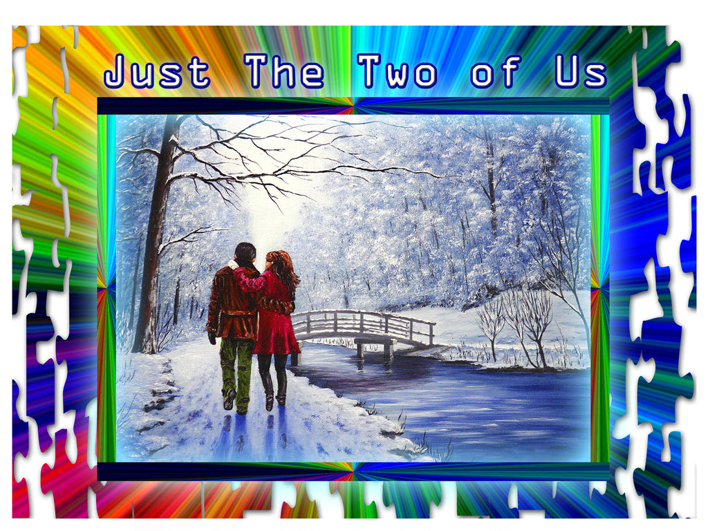 Greeting Card Plaque - Just the Two of Us