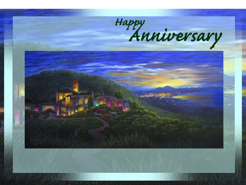 Greeting Card Plaque - Happy Anniversary
