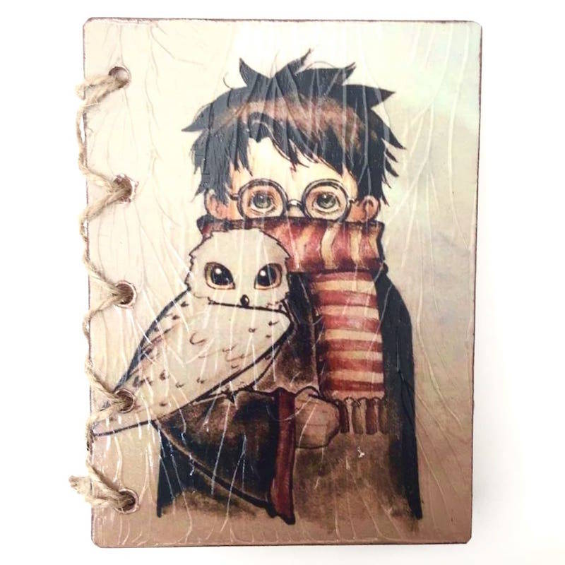 "Libreta Artesanal Mediana ""Harry Potter"""