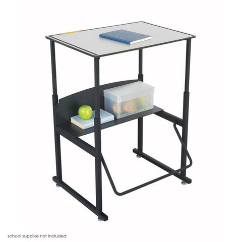 "AlphaBetter Student Standing Desk Dry Erase Top 28"" and 36"" 1203GR"