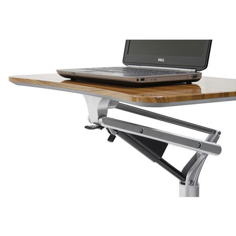 WORKPAD MOBILE LAPTOP ADJUSTABLE DESK Walnut