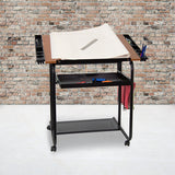 Adjustable Drafting and Drawing Table