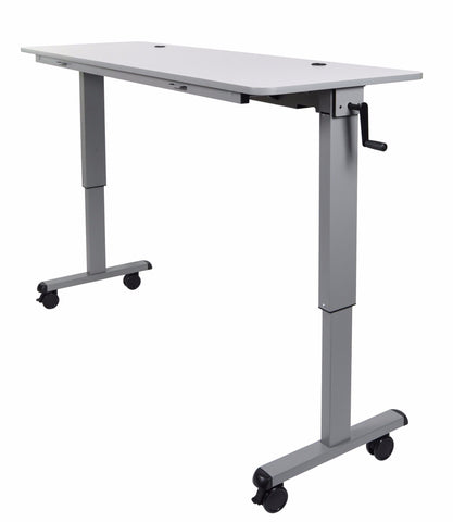 "STAND-NESTC-60 - Flip Top Desk Crank Adjustable  60""- Egyr Desk"