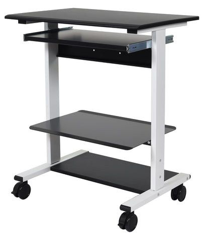 Luxor Three Shelf Adjustable Stand Up Workstation