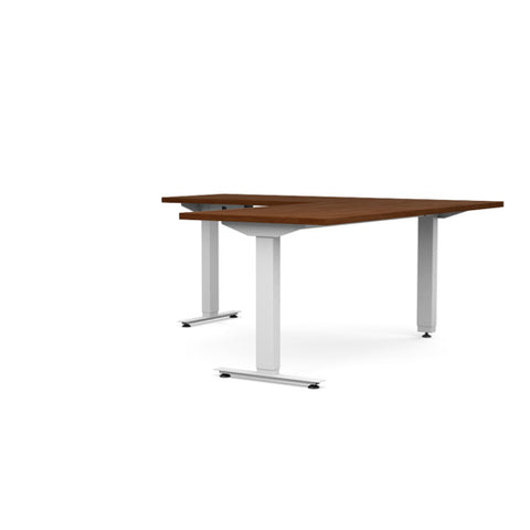 Voyager 3 Leg L Shape  90 Degree Electric Desk - Egyr