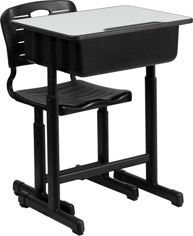 Student Desk Height Adjustable with chair- Egyr Desk