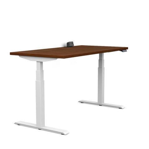 3 Stage Electric Stand Up Desk Switchback 2 Leg Base - EGYR Desk