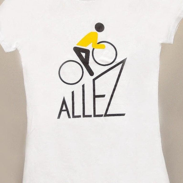 le Tour de France Allez Women's Organic Tee - Ride Auburn