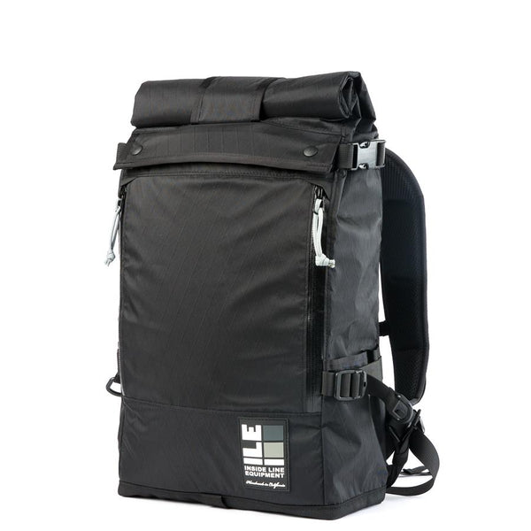 ILE ASNMNT in XPAC Black - 18L; Laptop compartment; handmade in the US
