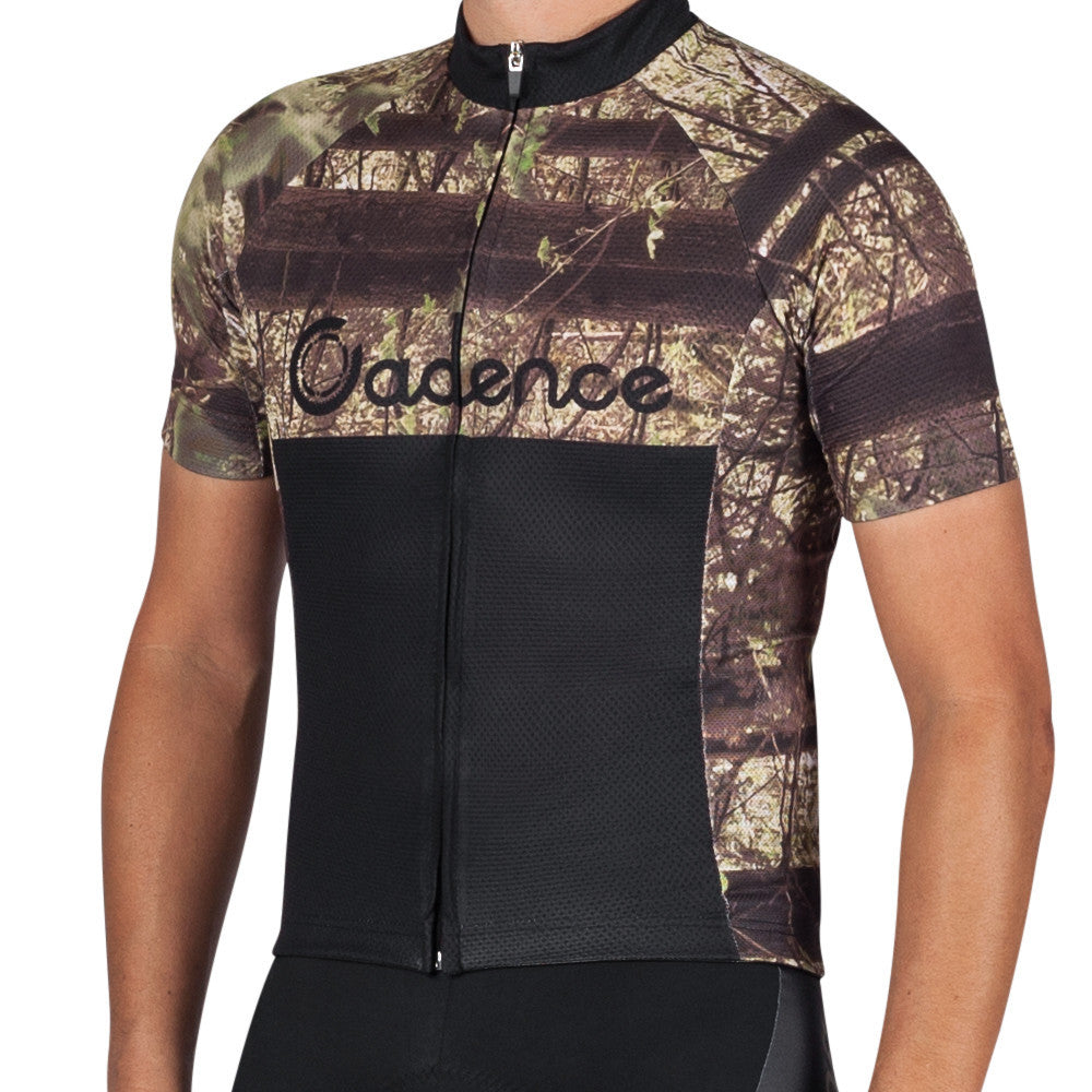 Reel Camo Short Sleeve Cycling Jersey