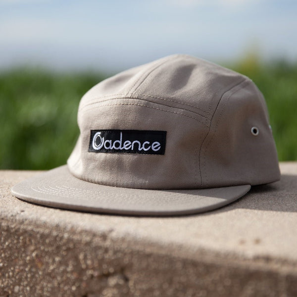 Cadence Collection Finn 5-panel cap - khaki