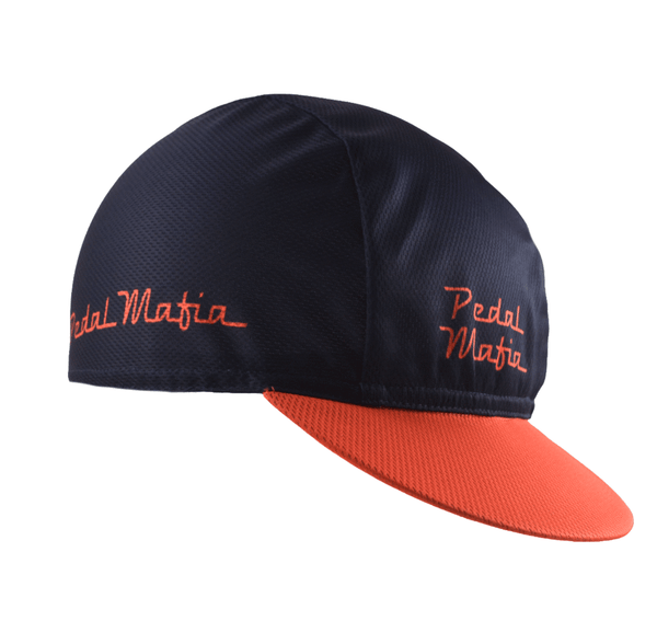 Pedal Mafia Cycling Cap - Fresh Red - Ride Auburn