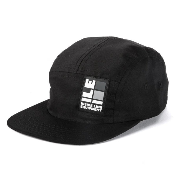 ILE Logo Hat Black - Made in USA. International shipping.