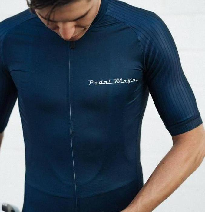 Race Tech Jersey Navy/white logo - Ride Auburn