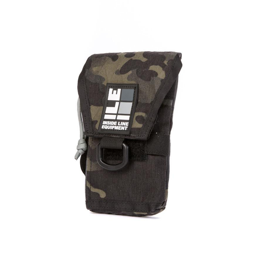 ILE Phone Holster with zip pocket - Multicam black. International shipping