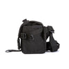 ILE Photo bag Mini in Cordura Black Side view - handmade in USA