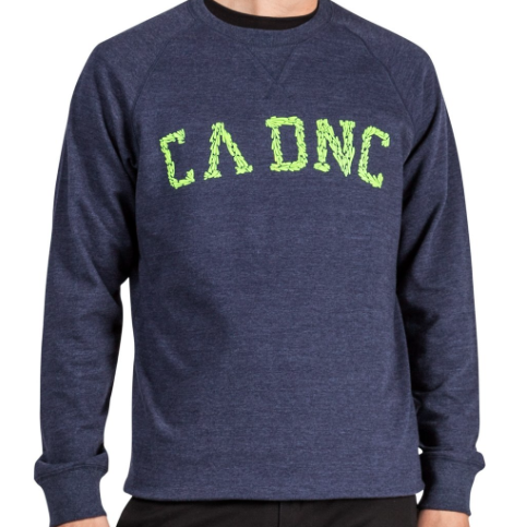 marine brush crewneck sweatshirt