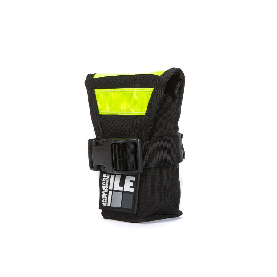 ILE Seat Bag Black + Reflective - Ride Auburn