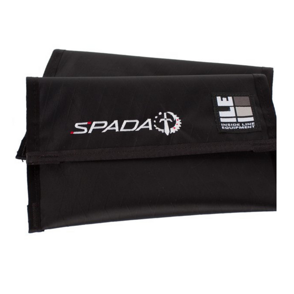 ILE x Spada Accessory Pouch -Black/red lining