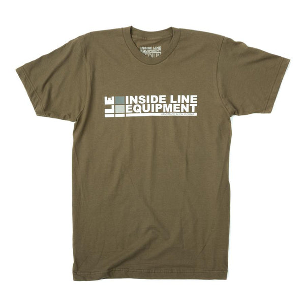 ILE Logo Tee by Inside Line Equipment - 100% Cotton, made in USA. International shipping