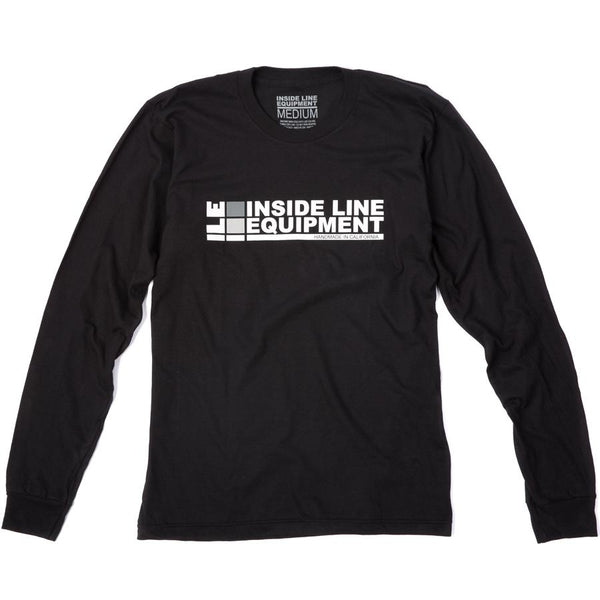 ILE Logo Long Sleeve Tee by Inside Line Equipment - 100% Cotton, made in USA. International shipping
