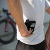 ILE Zipped Cycing Wallet - holds iphone 7, money, cards. Fits into cycle jersey pocket