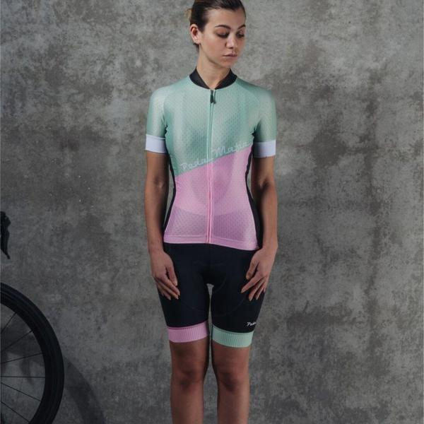 Pastel Pink/Green Women's Kit - Ride Auburn