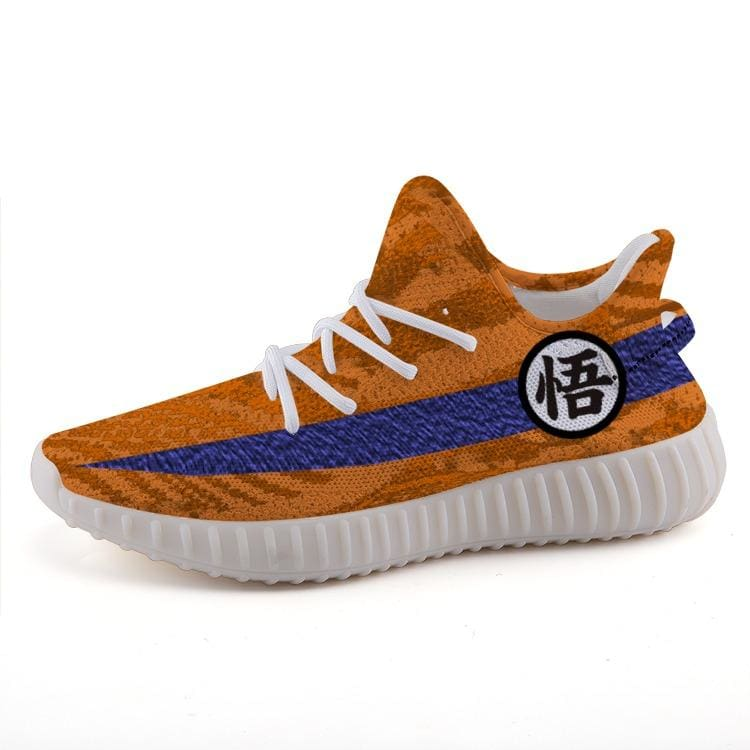 sneakers for cheap 2235f 9ee03 Dragon Ball Z Goku Custom Yeezy 350 v2 Ultra Boost Shoes