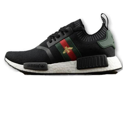 791baec96 Gucci Bee Black Adidas Inspired NMD R1 Prime knit Shoes - Men   7 - Shoes
