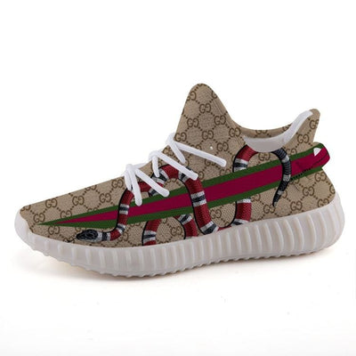 c7f04e9d8  High Quality Custom Art Clothing   Accessories Online  - Hype Mini. Gucci  Gang GG Pattern Coral Snake Yeezy Stripe 350 v2 Ultraboost Shoes