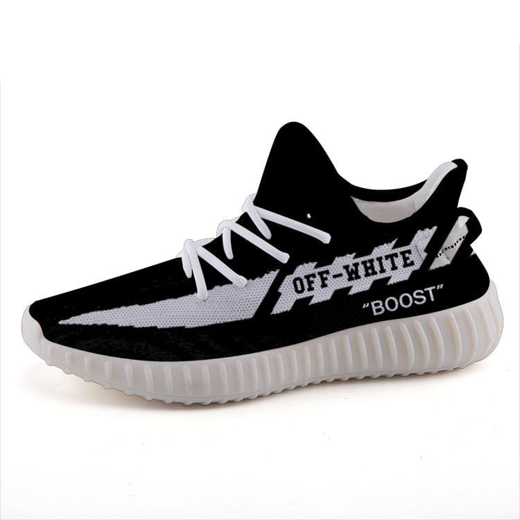 ac005e3af Off-White Custom Yeezy Boost 350 v2 Shoes – Hypemini