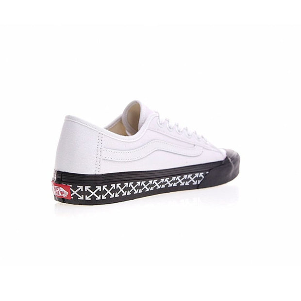 e724cd42ed OFF-WHITE x VANS Classic Old Skool Low Top Canvas Skate Shoes – Hypemini