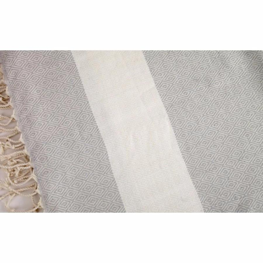 Organic Cotton - Handwoven Turkish Towel - Diamond