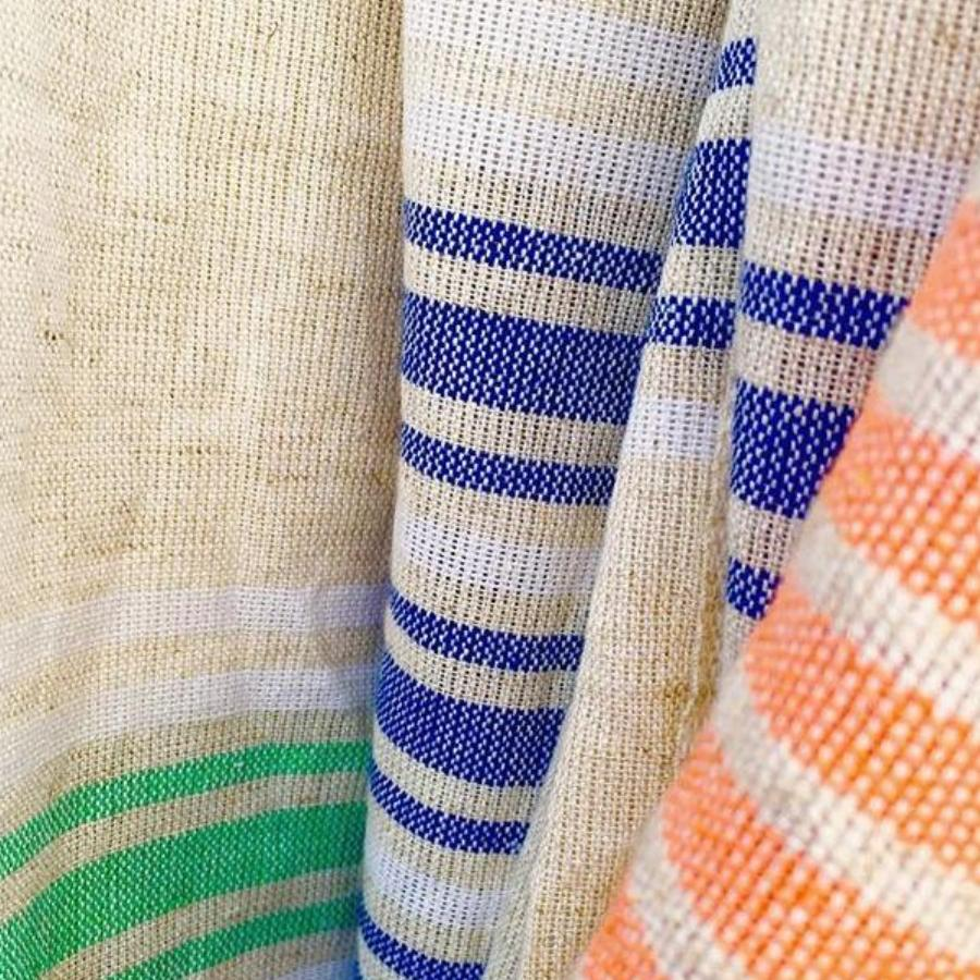 Organic Cotton/Linen - Handwoven Turkish Towel