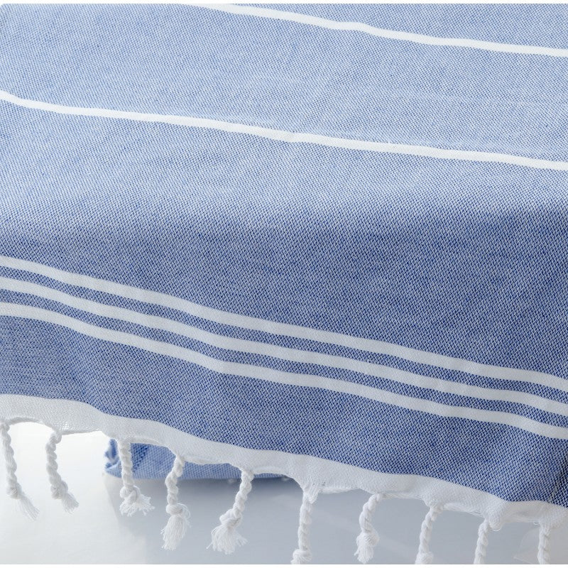 Hand Towel - Handwoven Organic Turkish Cotton - Striped
