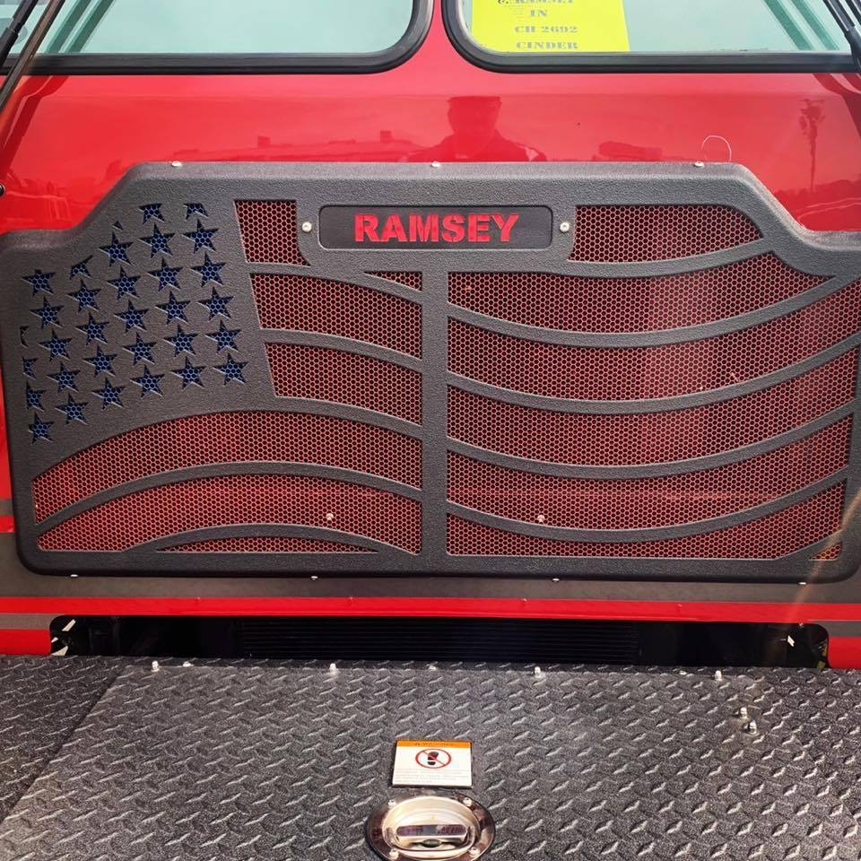 Ramsey Vol. Fire Department (New Salisbury IN) | New Fire Station Furniture