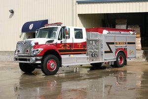 Gilchrist County Fire Rescue Gilchrist County, Florida | Duty-Built® PRO Custom Embroidered Theater-Style Recliner