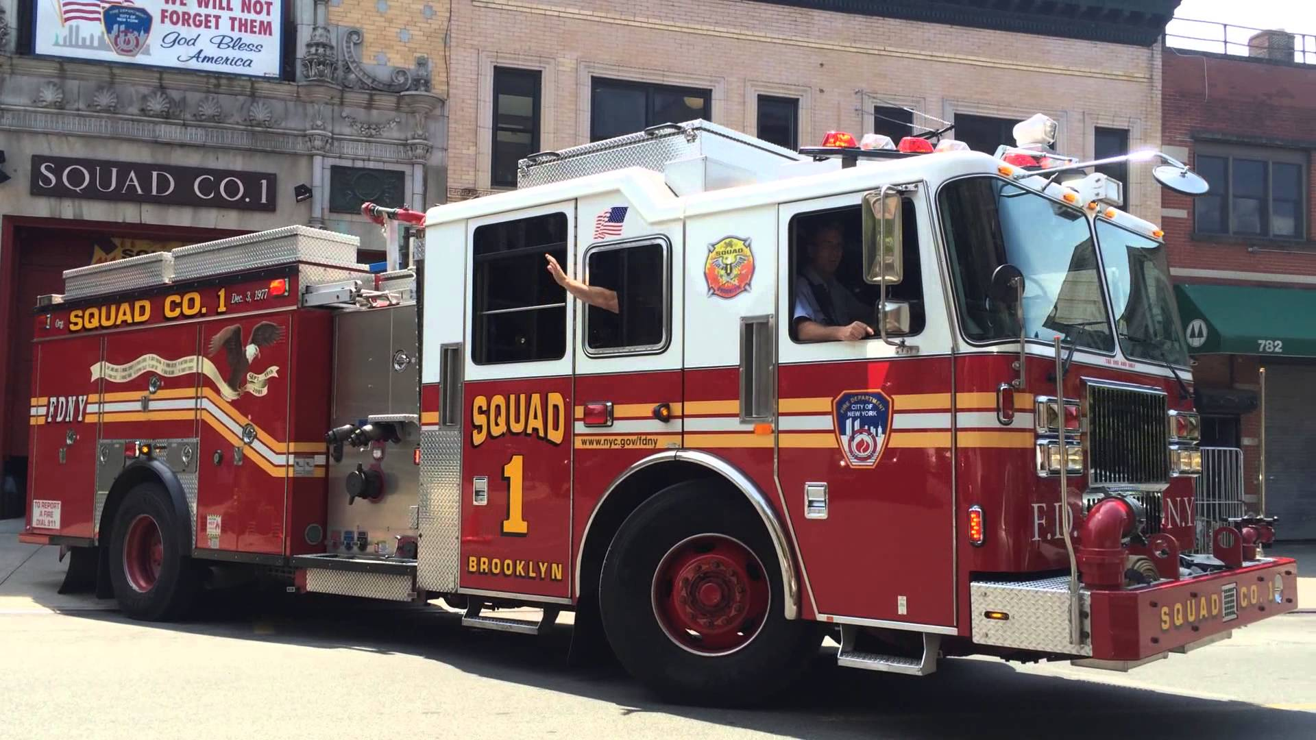 FDNY Squad Co. 1 | The Ultimate Firefighter Recliner