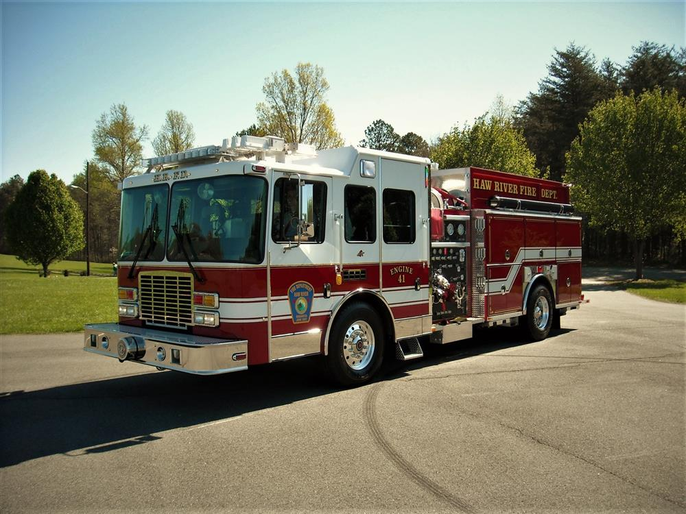 Haw River NC Fire Department purchases new bunk room furniture