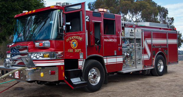 Oceanside Fire Department (CA) | Duty-Built Squad Co. Firehouse Recliners