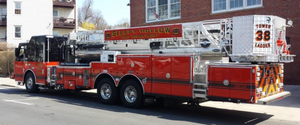 Pocantico Hook & Ladder (Sleepy Hollow NY) | Duty-Built Double Firefighter Recliner Loveseat & Sofa