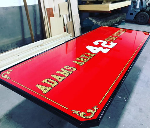 custom logo firehouse tables
