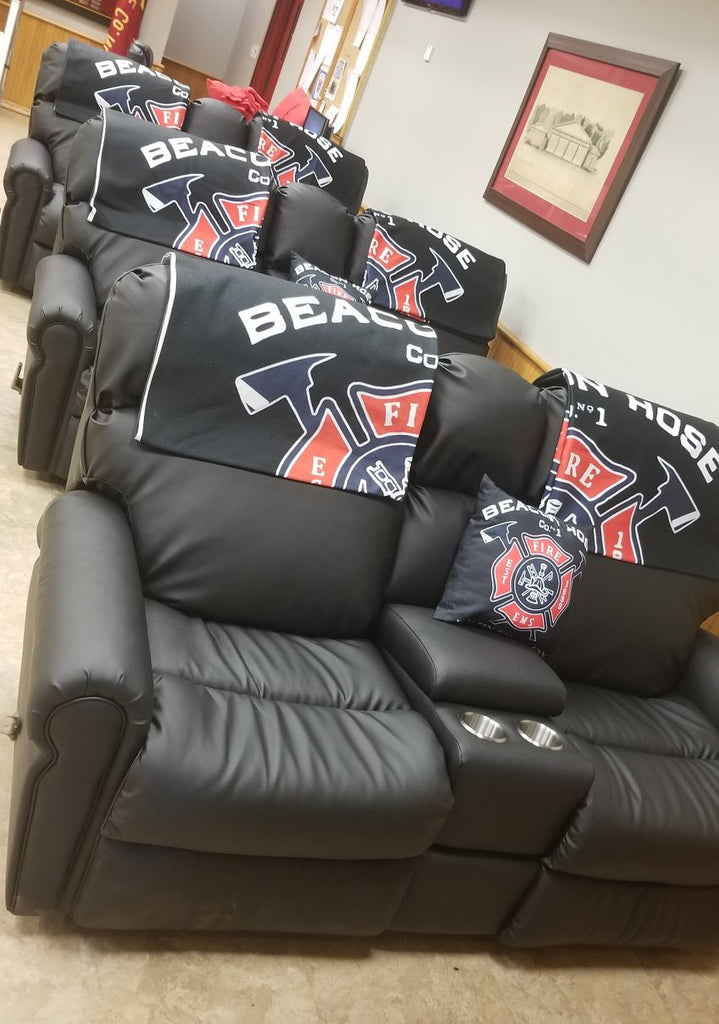 beacon hose company firefighter recliner